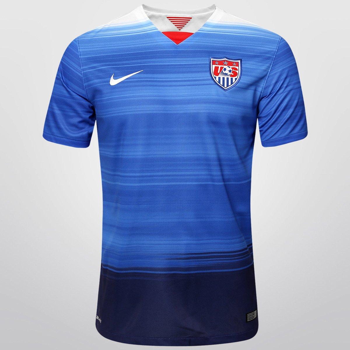 Camisa Seleção USA Away 15 16 s nº Torcedor Nike Masculina - Compre Agora  38daf5f14666d