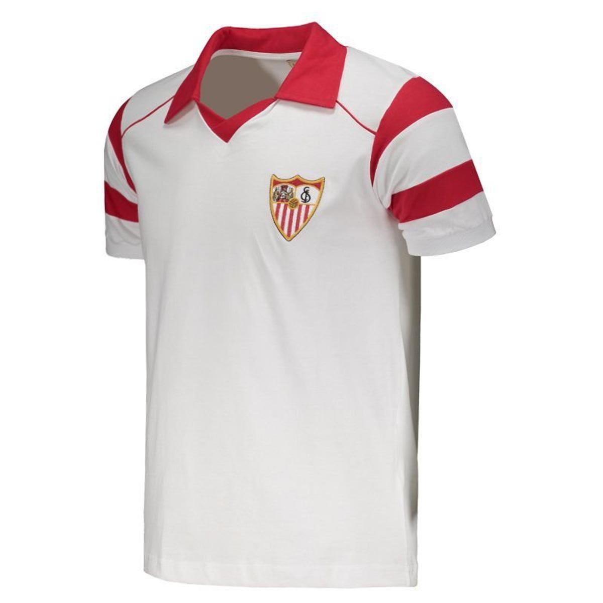 62c7575862 Camisa Sevilla Retrô 1992 Masculina  Camisa Sevilla Retrô 1992 Masculina ...