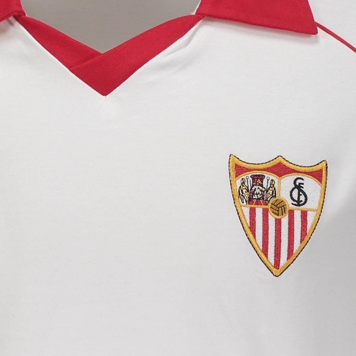 cf07264e14 Camisa Sevilla Retrô 1992 Masculina - Branco - Compre Agora
