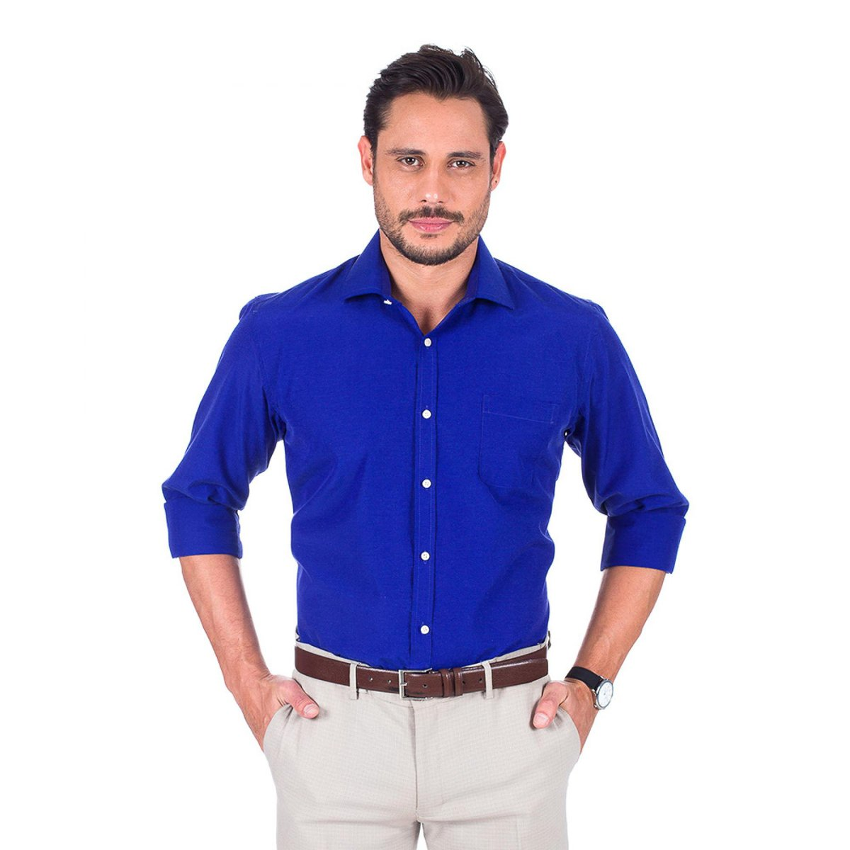 7dd11dce91 Camisa Social Colombo Masculino