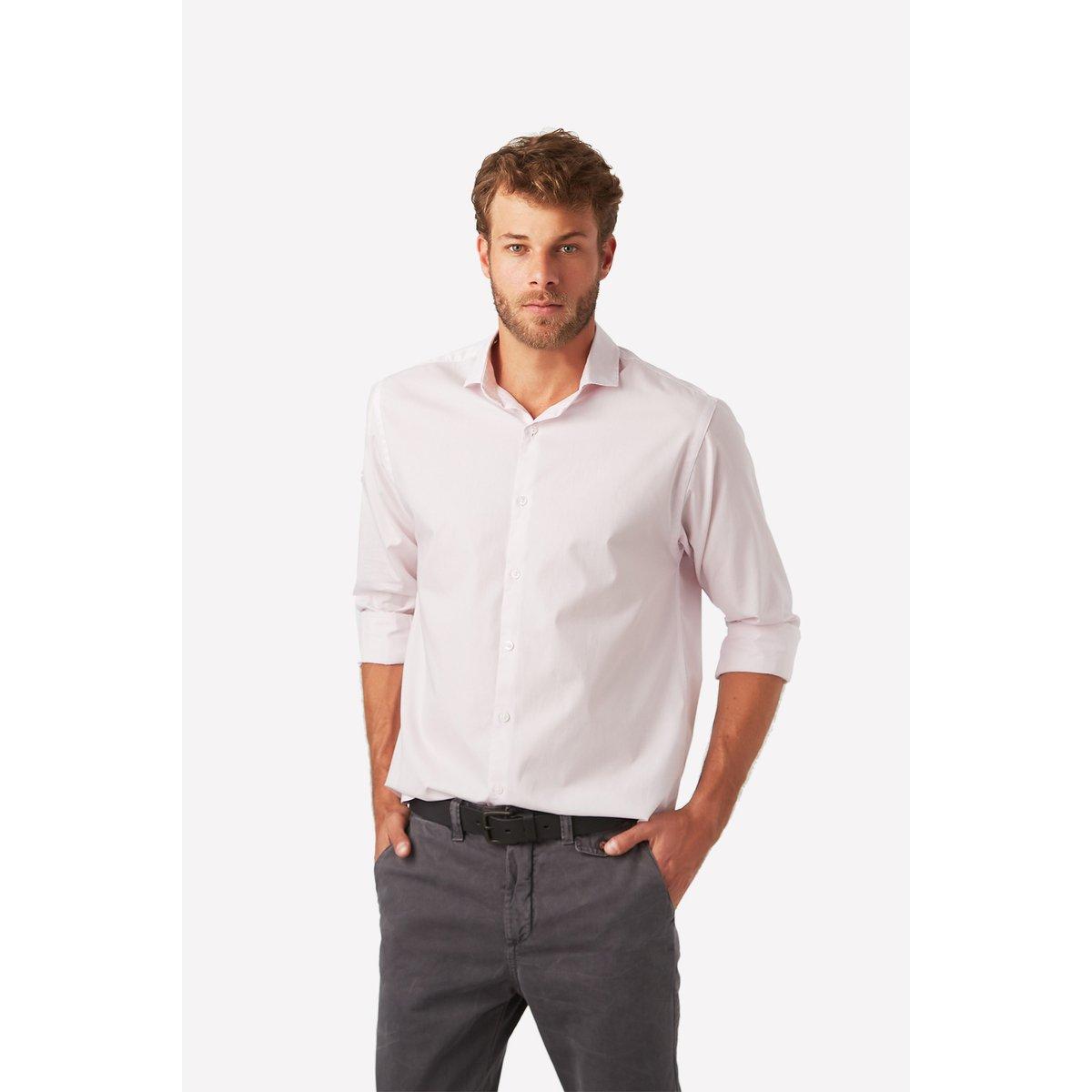 c13191e6c7 Camisa Social Foxton Ml Copenhague Masculina - Compre Agora