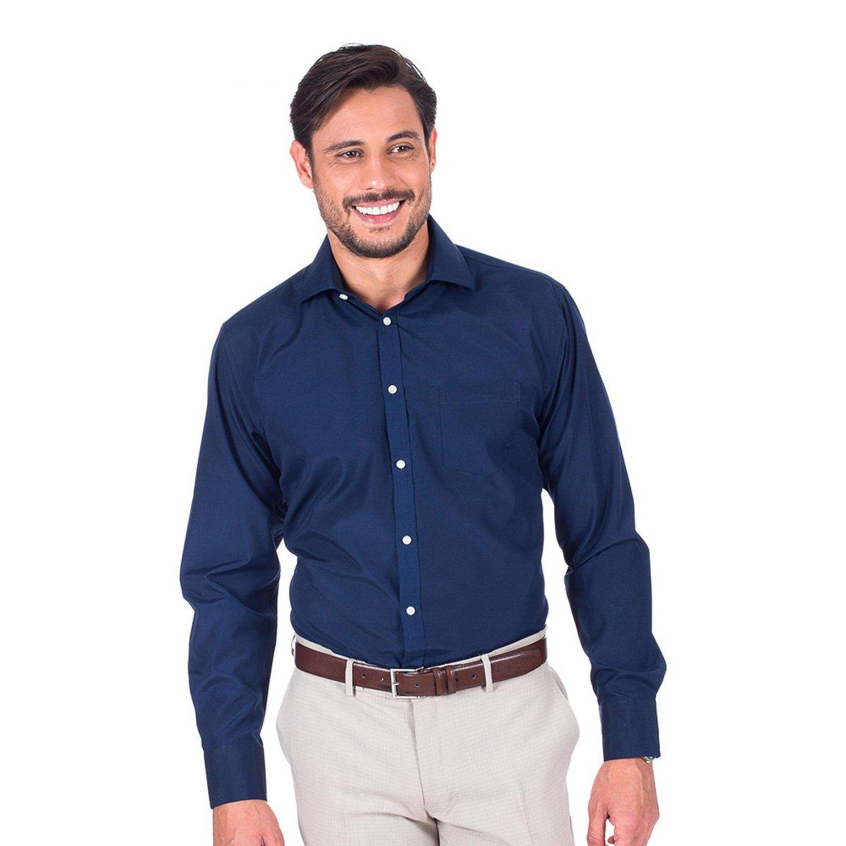 Camisa Social Lisa Colombo Masculino - Compre Agora  69eca8cb9bdcd