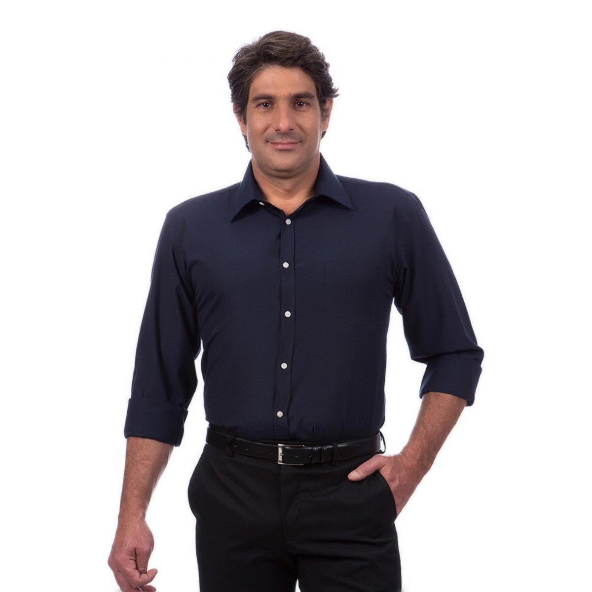 ff36210211 Camisa Social Masculino - Compre Agora