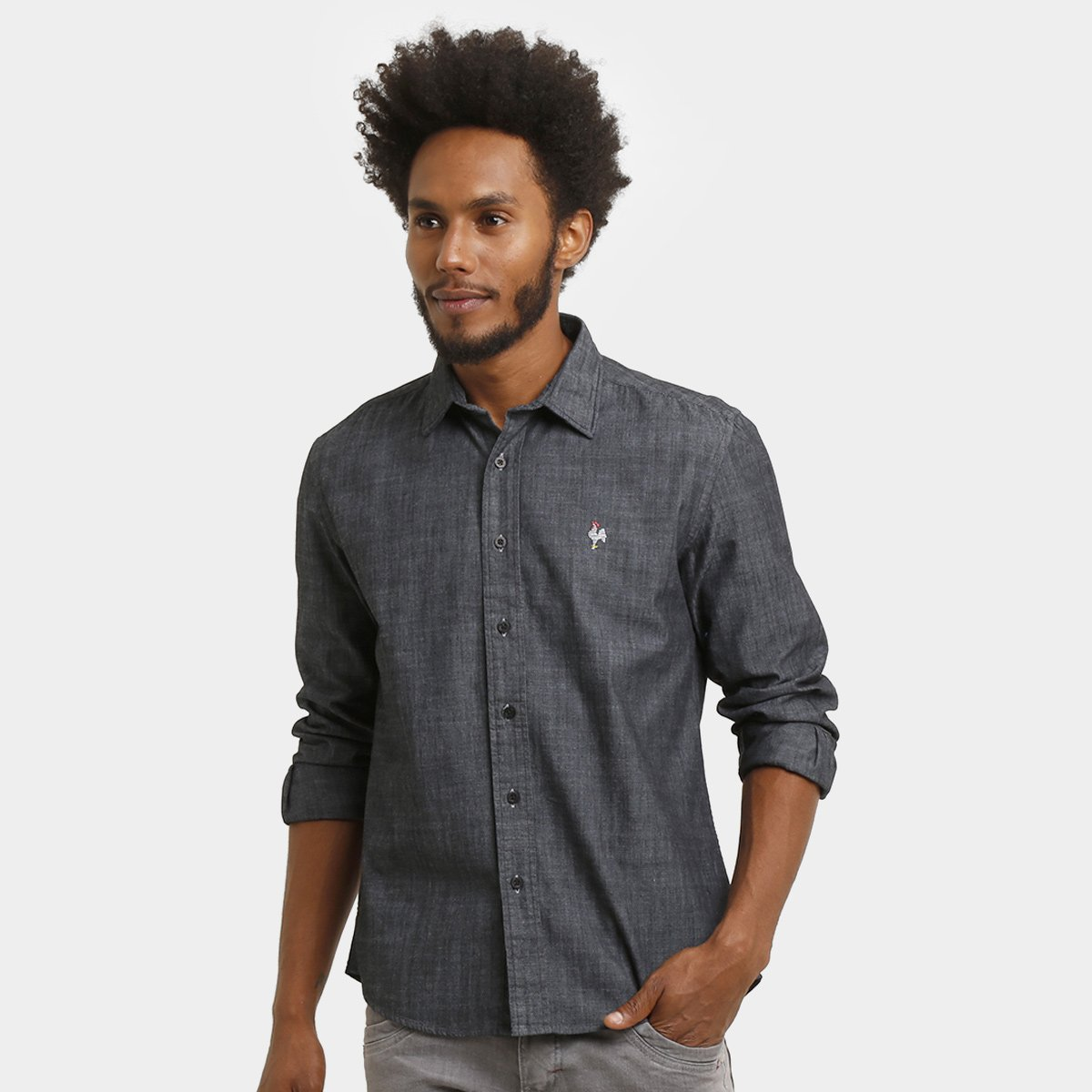 4b7192fba7 Camisa Social Palla D Oro Atletico Galo Volpi - Compre Agora