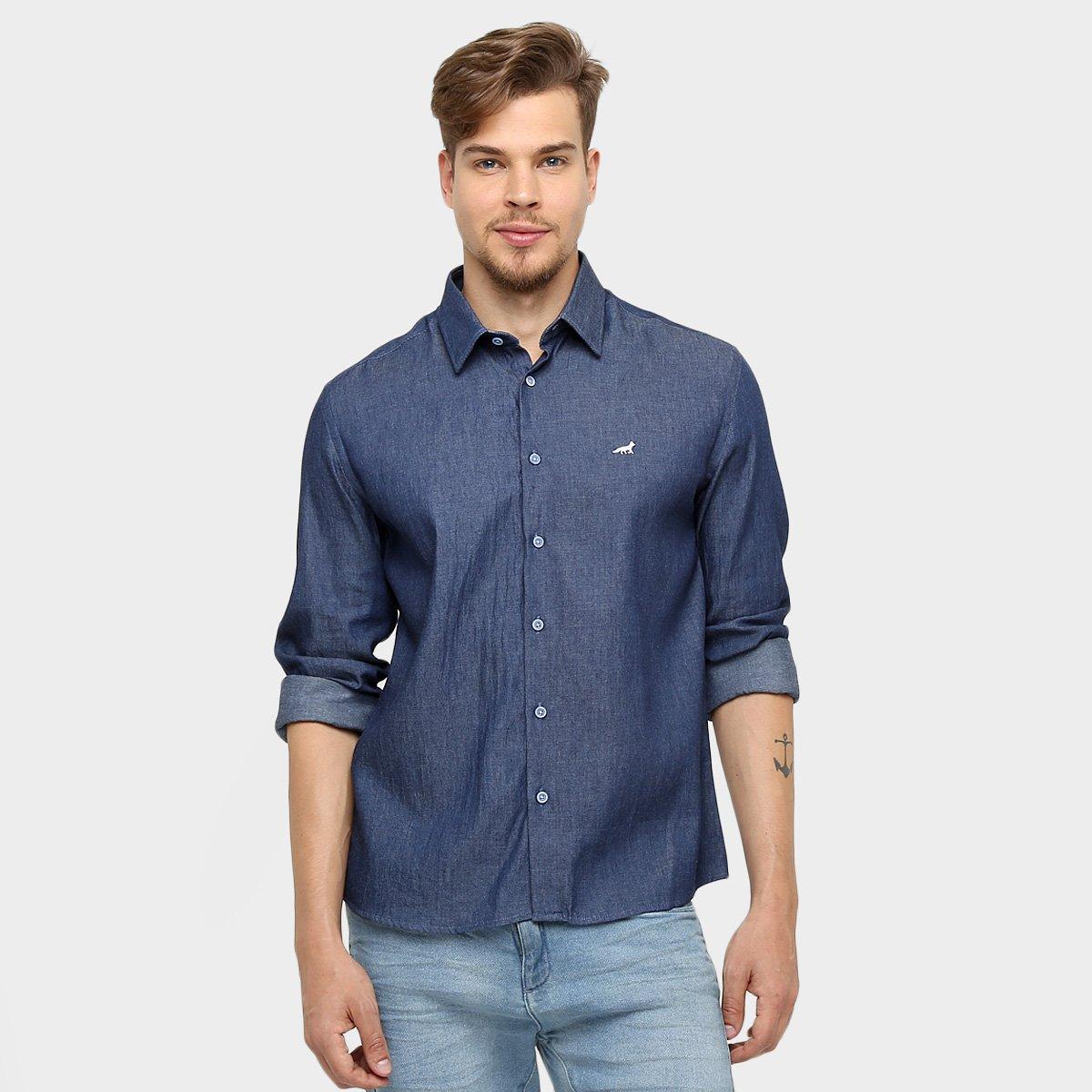 Camisa Social Palla D Oro Cruzeiro Manga Longa - Compre Agora  075b7c468917f