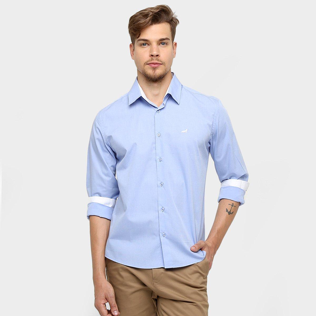 Camisa Social Palla D oro Cruzeiro M L - Compre Agora  ccb7720128100