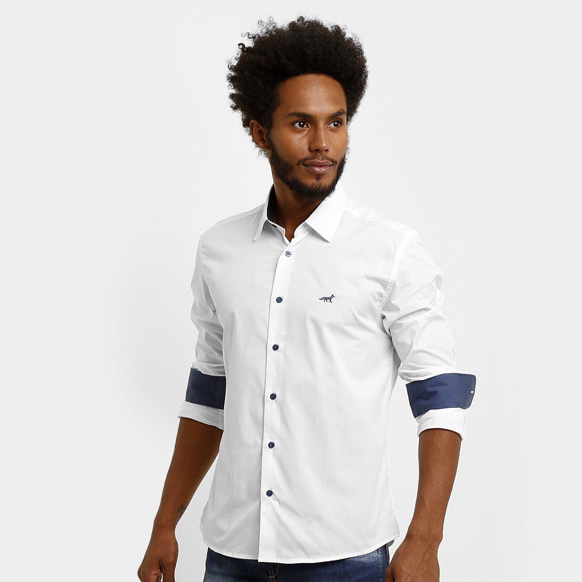 Camisa Social Palla D Oro Cruzeiro Raposa - Compre Agora  87f11535c9744