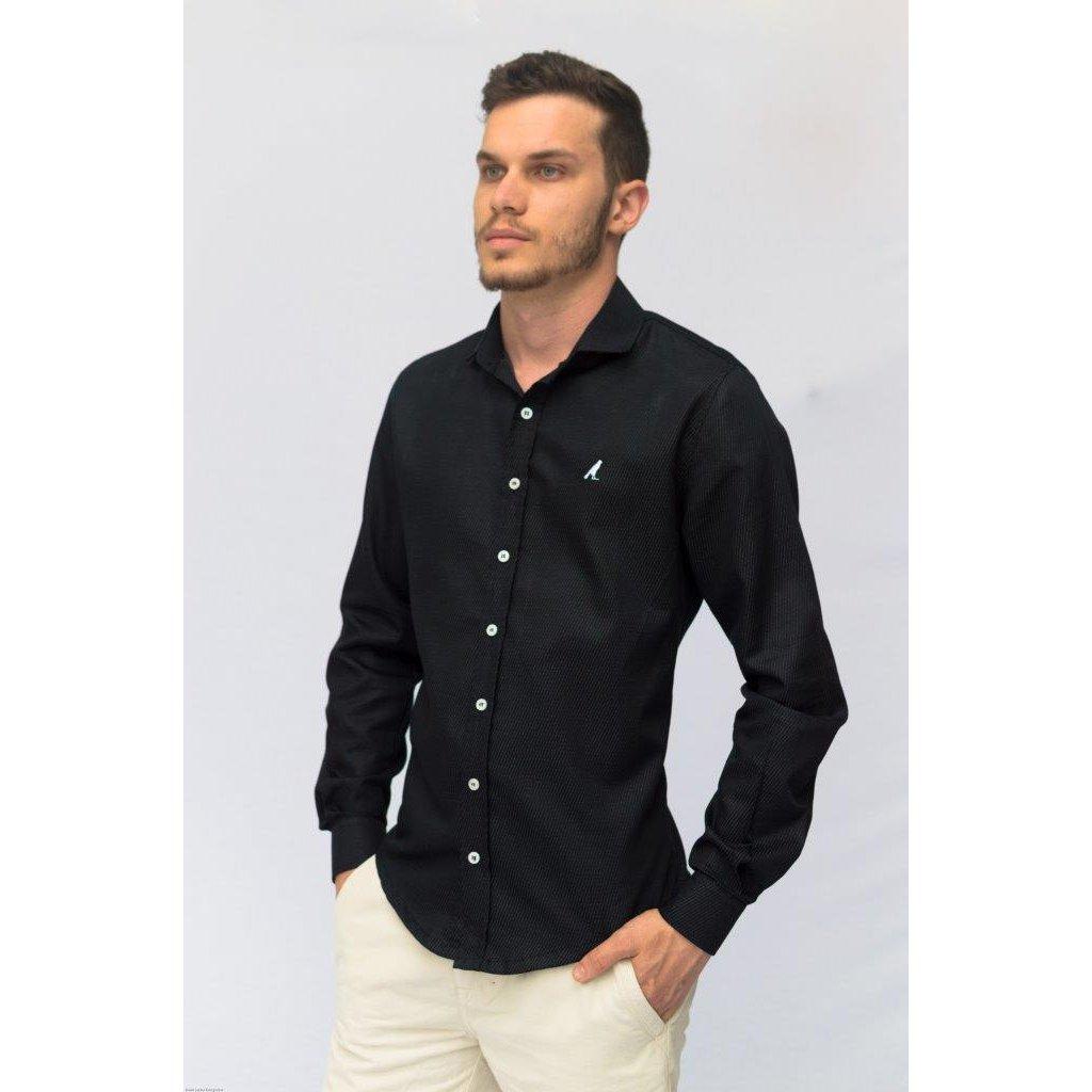 94ba7f5f5a Camisa Social Slim Maquinetada 3001 - Compre Agora
