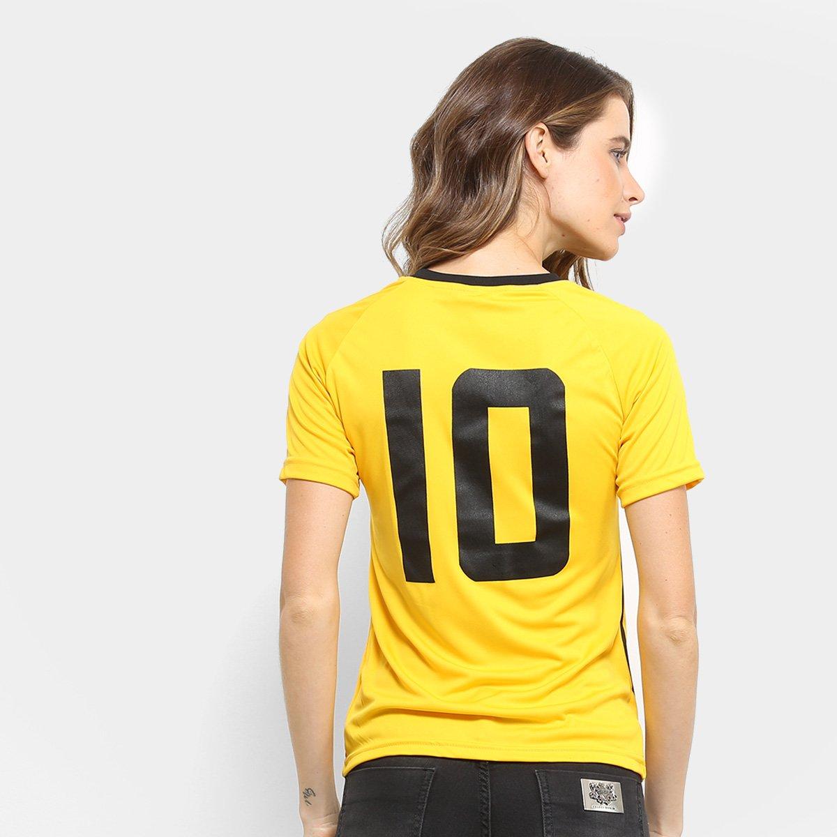 Amarelo Sport Camisa Recife 10 Limitada 2011 Feminina n° Edição Tn8nwqdC