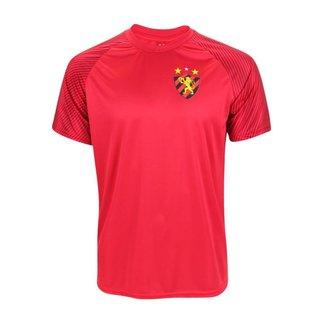 Camisa Sport Recife 2021 Treino Casual Vermelha
