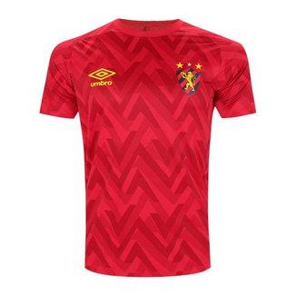 Camisa Sport Recife 2021/2022 Oficial Treino Aquecimento Atleta