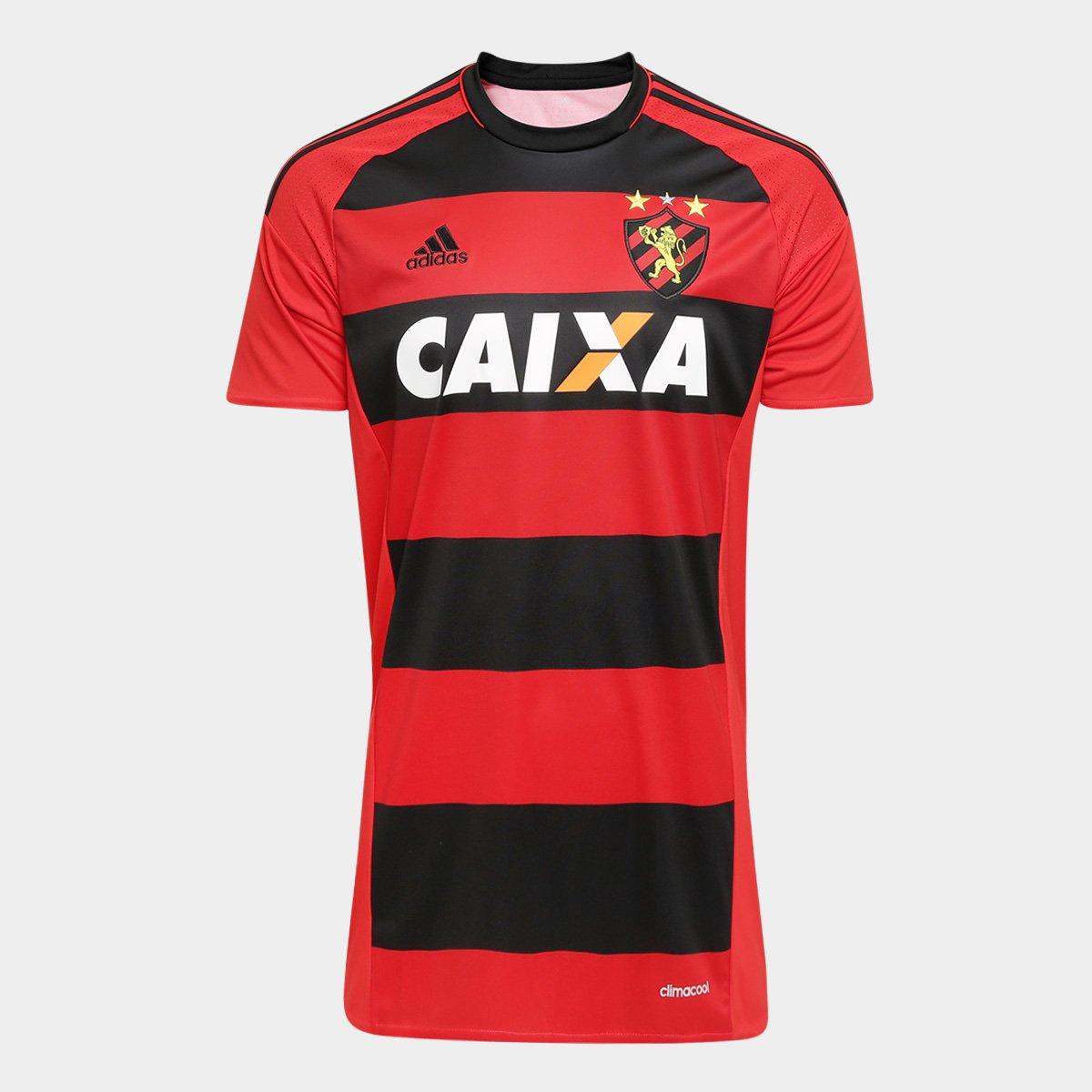 Camisa Sport Recife I 16 17 s nº Torcedor Adidas Masculina - Compre Agora  e492a0e02d118