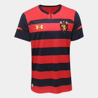 Camisa Sport Recife I 2018 s/n° Torcedor Under Armour Masculina