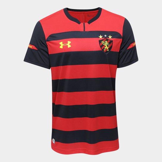 Camisa Sport Recife I 2018 s/n° Torcedor Under Armour Masculina - Vermelho+Preto