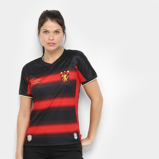 Camisa Sport Recife I 20/21 s/n° Estádio Umbro Feminina
