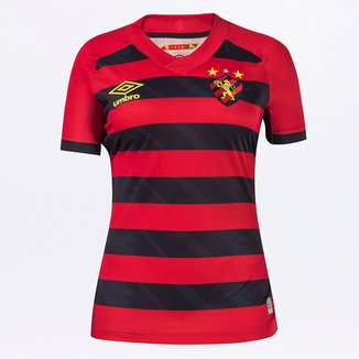 Camisa Sport Recife I 21/22 s/n° Torcedor Umbro Feminina