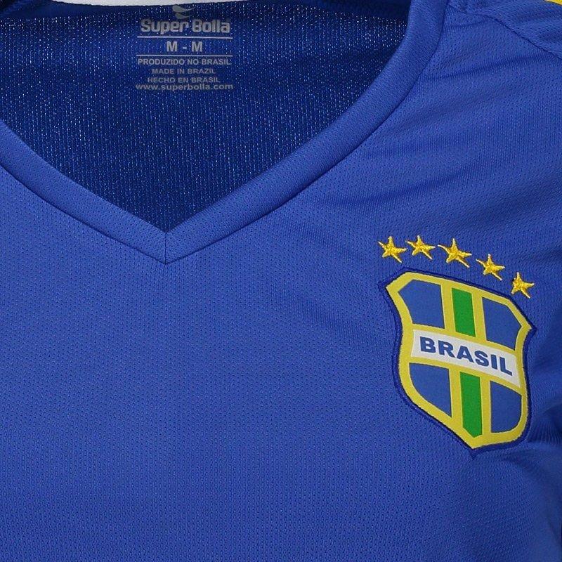 10 2018 Brasil Pro Bolla Super Feminina Camisa Azul N° IgPqYUxOnw