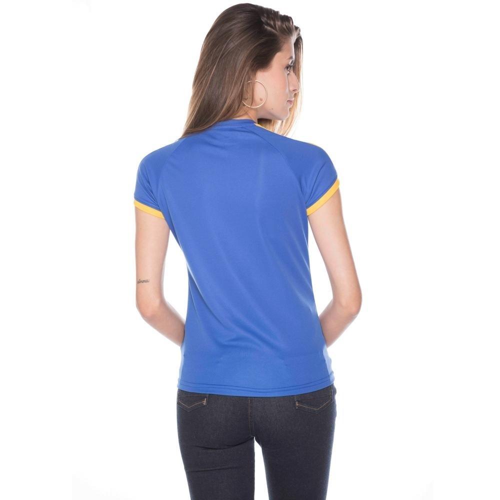 e Bolla Azul Amarelo Super Pro Brasil Feminina Camisa Royal B41OpqpT