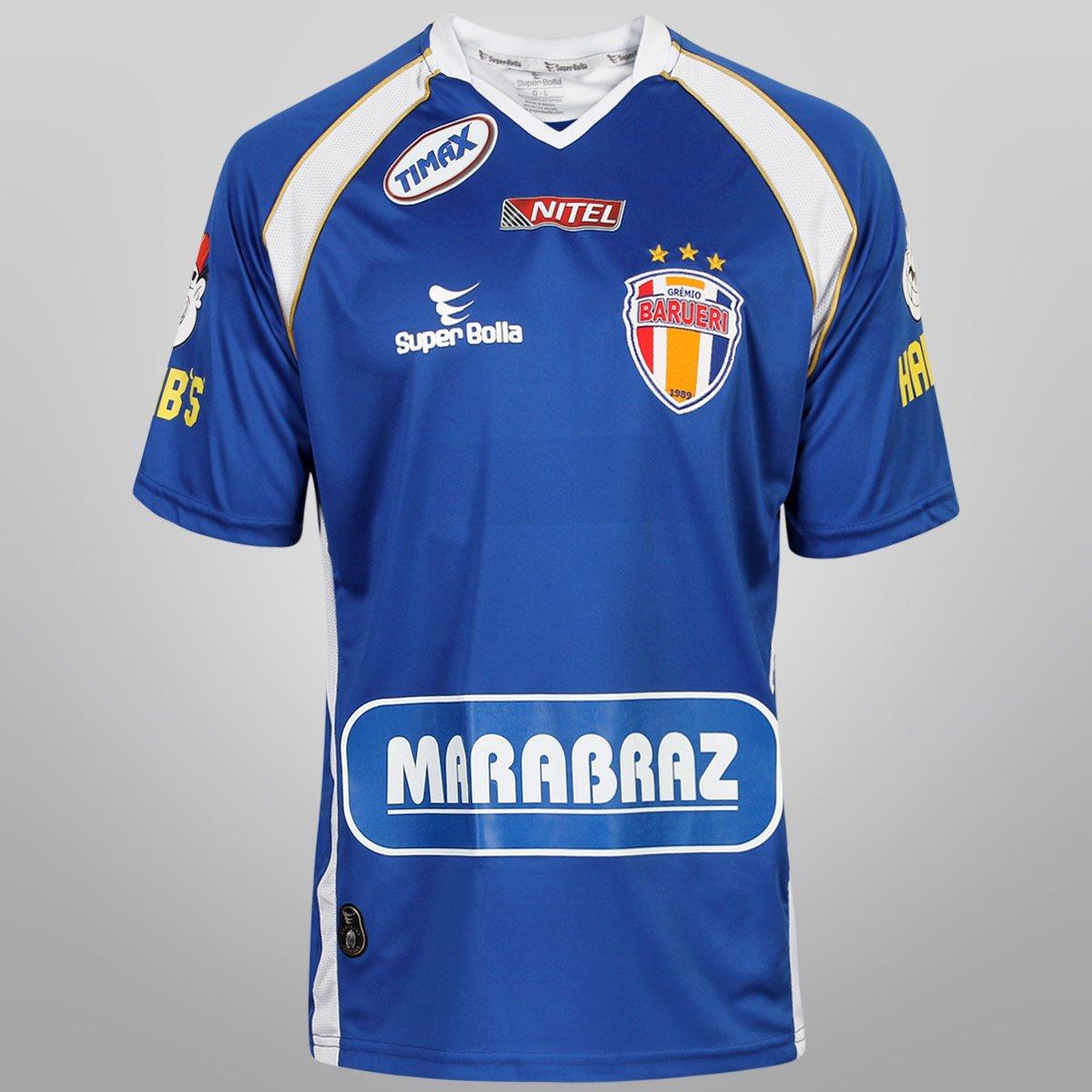 Camisa Super Bolla Grêmio Barueri II 13 14 nº 10 - c  Patrocínio - Compre  Agora  df626d9369e9f