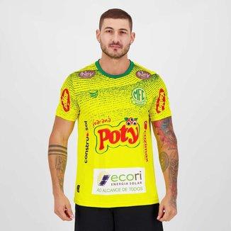 Camisa Super Bolla Mirassol Pré Jogo 2021 Masculina