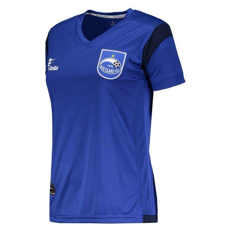 Camisa Feminina Bolla Camisa Claro Super 2017 Rio I Super Azul STwBfq1f
