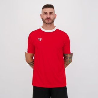 Camisa Super Bolla Strong Vermelha e Branca