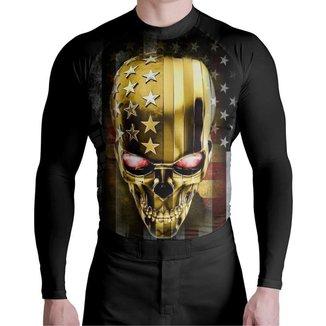 Camisa Surf Pro American Skull Atlética Esportes