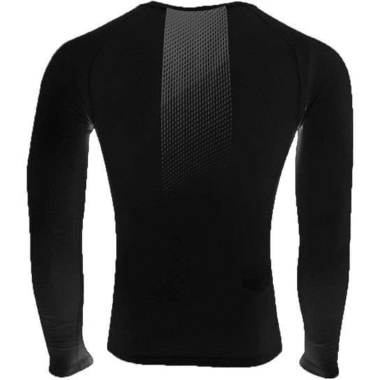 Camisa Termica Compressão Umbro Grapic Pro Adulto - Branco
