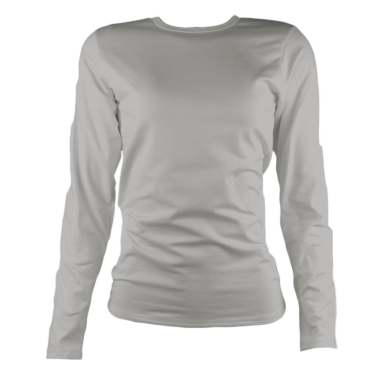 a00e114bb Camisa Térmica Feminina Segunda Pele Thermo Premium - Cinza