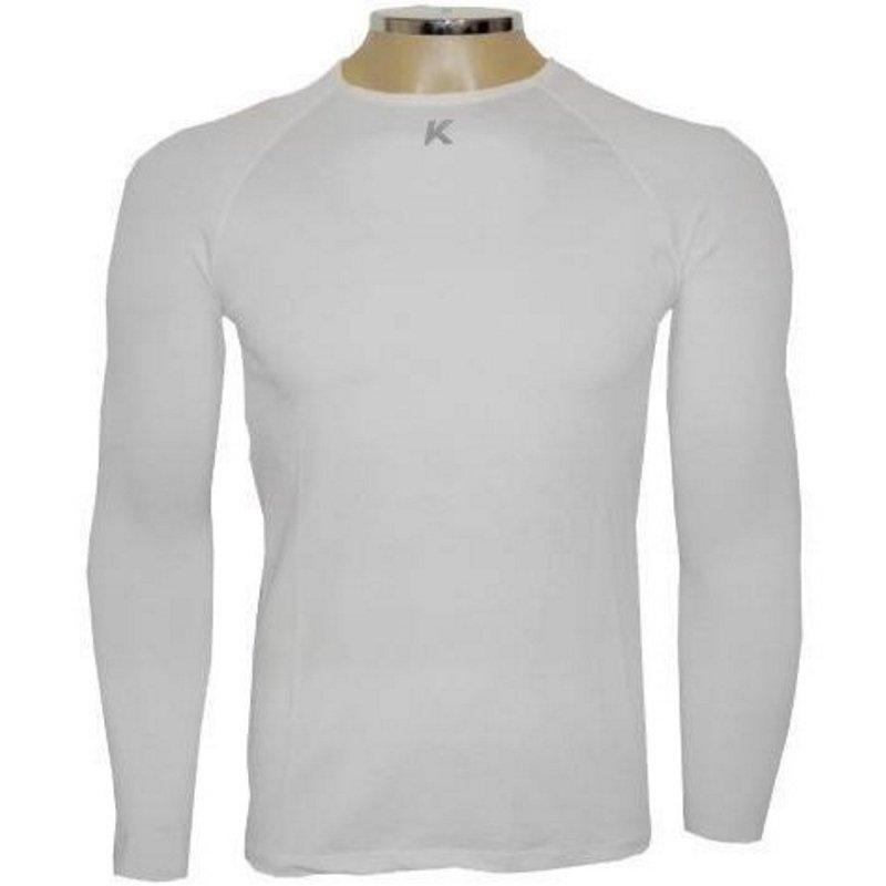 Camisa UV Termica Camisa e Termica Proteção Bactericida Kanxa Branco wvwgq