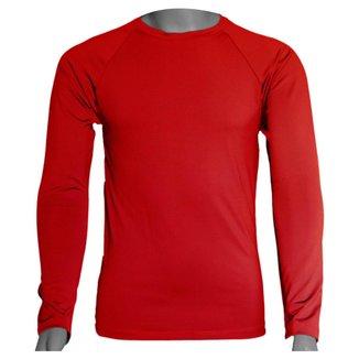 Camisa Térmica Manga Longa em Poliéster C/ Elastano Compressão Slim