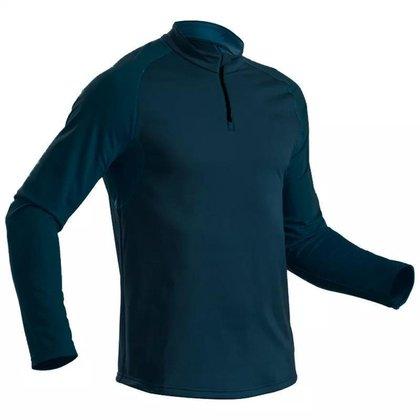 Camisa Térmica Manga Longa Segunda Pele Ciclismo Corrida UV