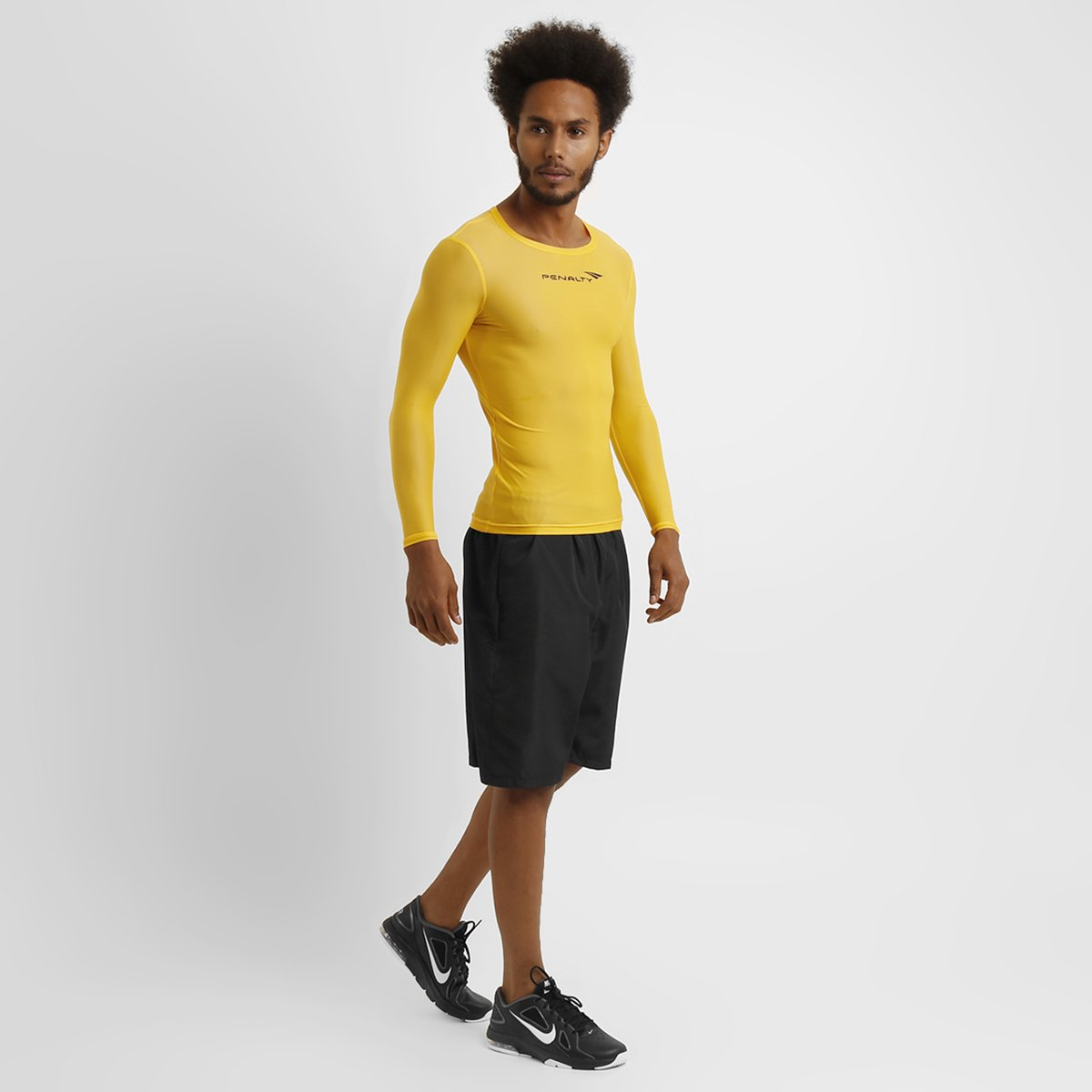 Camisa Térmica Penalty Matis 1 Manga Longa Masculina - Compre Agora ... cae423155fb94