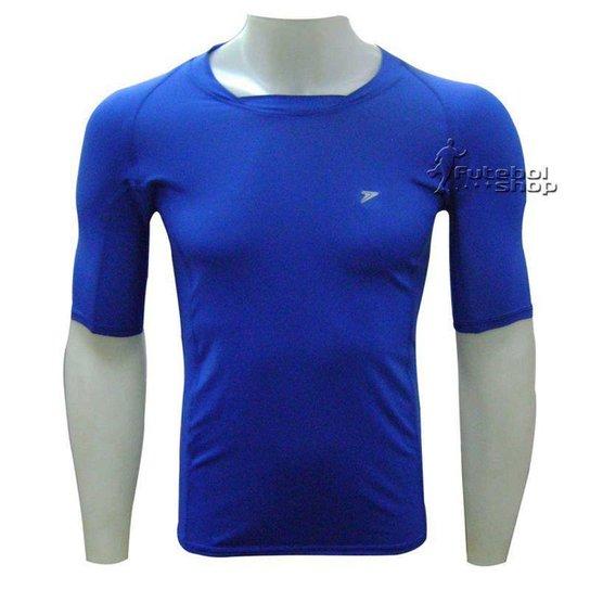 Camisa Térmica Poker Skin Atleta Manga Curta - 4316 - Azul - Azul