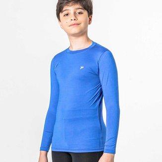 Camisa Térmica Poker Skin Infantil - Preto - P