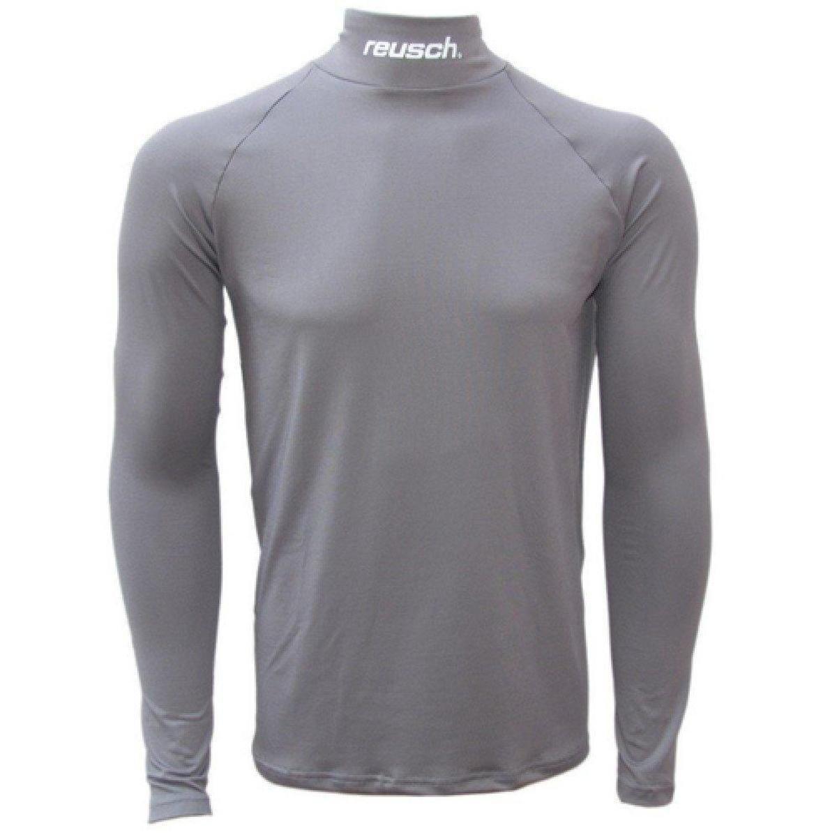 ee327f94bb303 Camisa térmica Reusch Underjersey G A - Cinza - Compre Agora