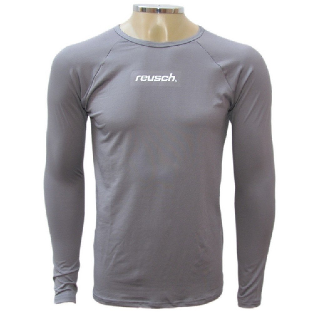 M Camisa L Underjersey térmica térmica Camisa Underjersey L térmica M Cinza Cinza Camisa Reusch Reusch qHqAS78xw