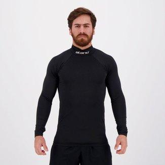 Camisa Térmica Stand Gola Alta Manga Longa