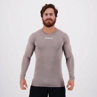 Camisa Térmica Stand Manga Longa Cinza