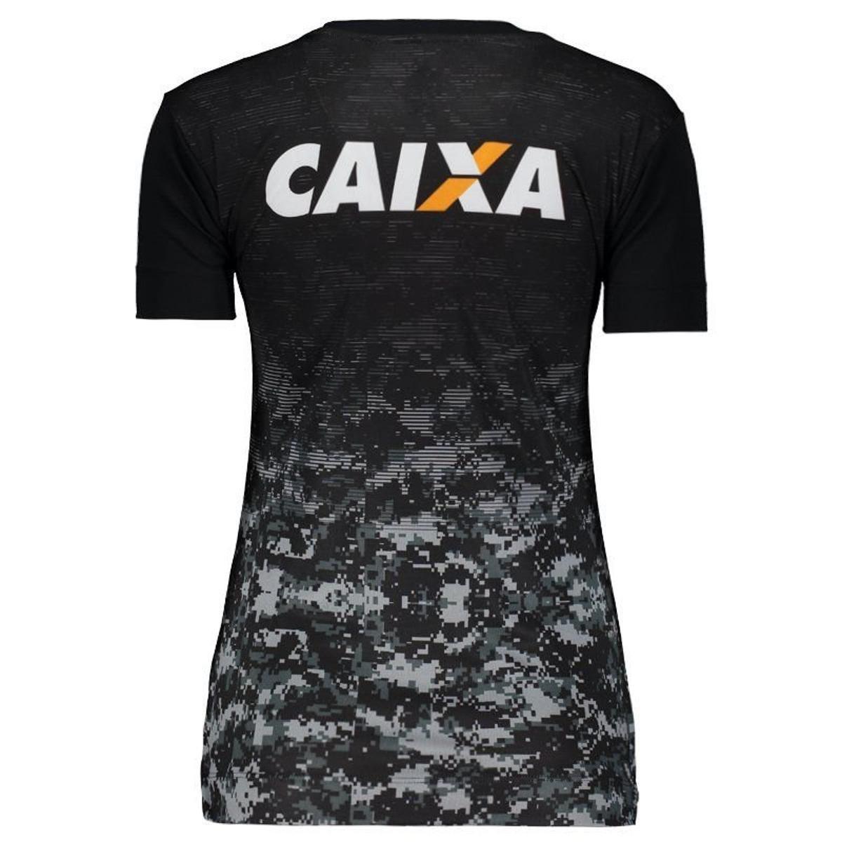 4353d23562 Camisa Topper Botafogo Aquecimento 2017 Feminina - Preto - Compre ...