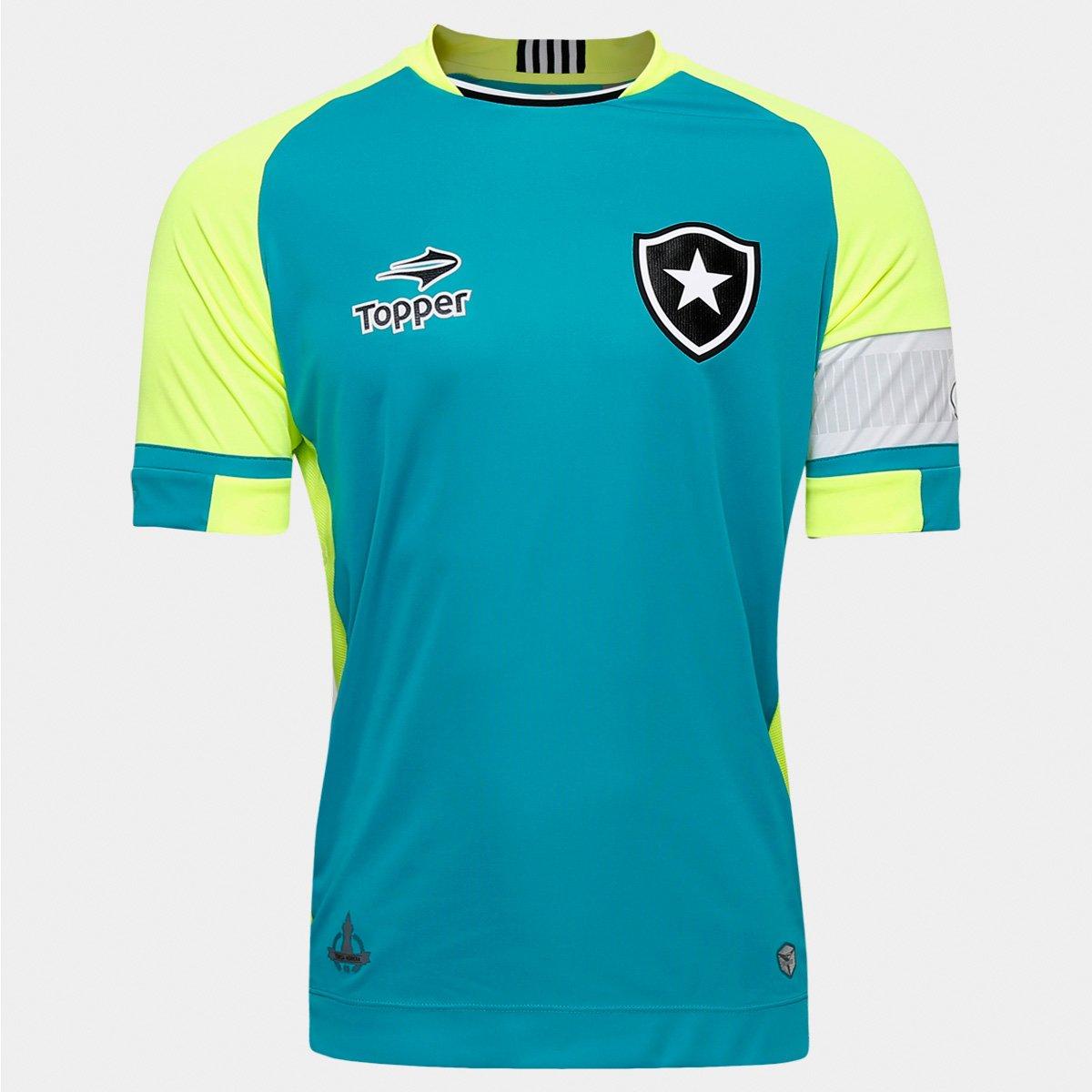 Camisa Topper Botafogo Goleiro 2016 s nº - Jefferson - Compre Agora ... 414deede447da