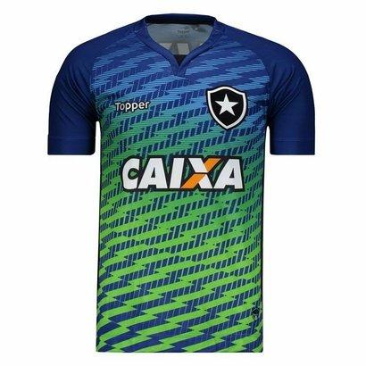 9746200b1f251 Camisa Topper Botafogo Goleiro I 2017 Masculina - Azul - Compre Agora