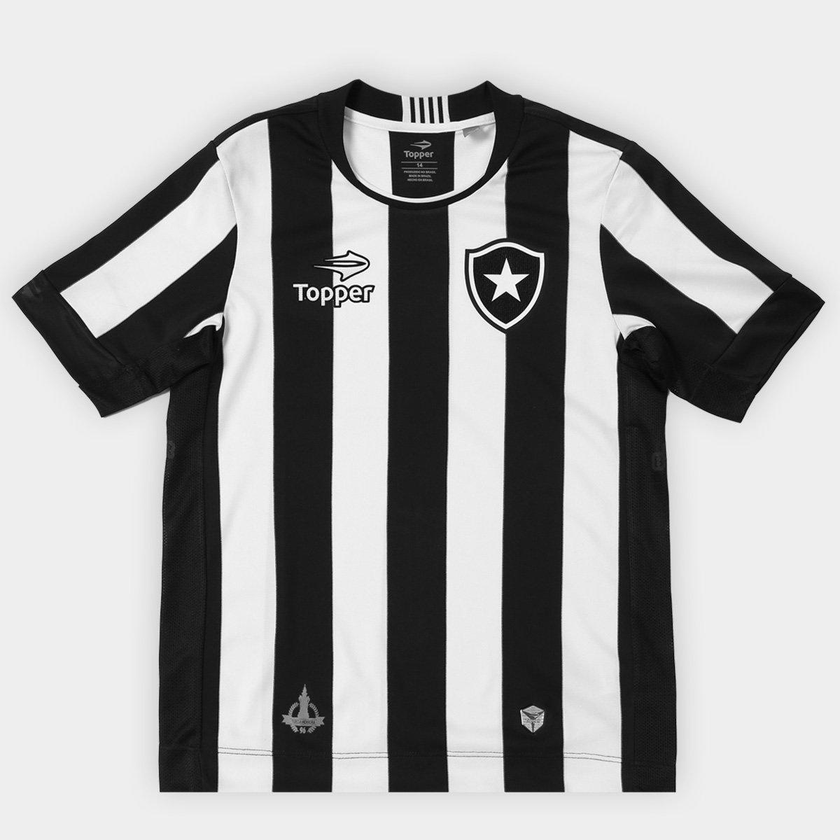 37c015346e088 Camisa Topper Botafogo I 2016 Infantil - Compre Agora