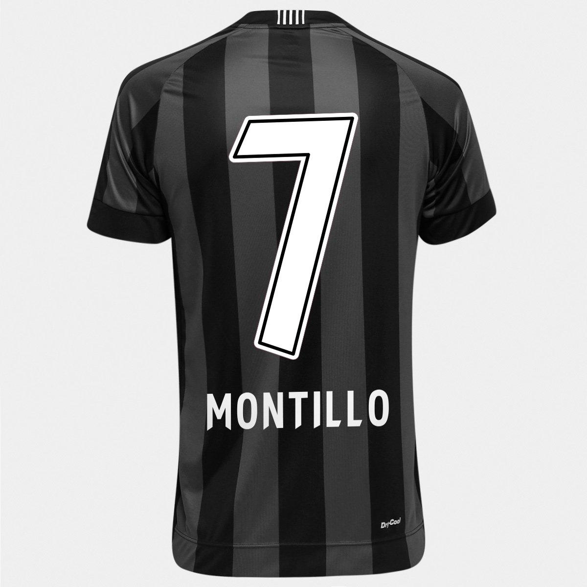 Camisa Topper Botafogo II 2016 n° 7 - Montillo - Compre Agora  0bde05c148073