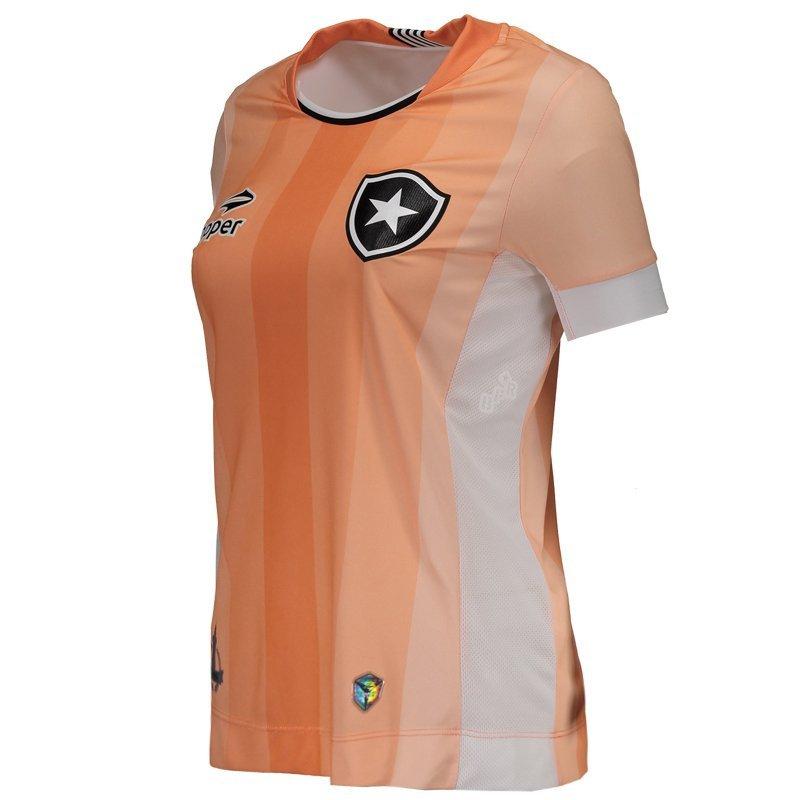 Camisa Topper Botafogo III 2016 Feminina - Rosa - Compre Agora ... 55bf564d00495