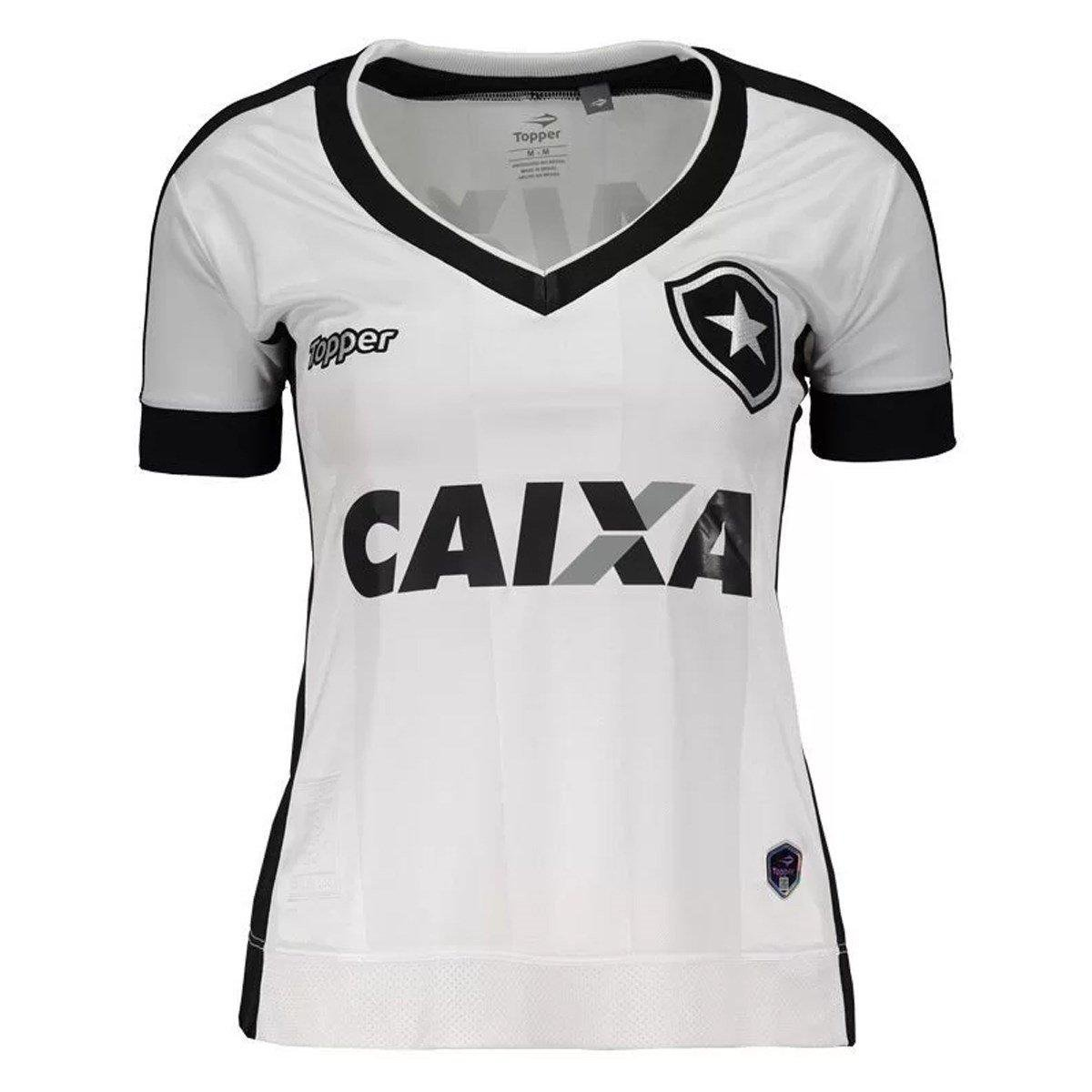 9616acaf61 Camisa Topper Botafogo III 2017 Feminina - Compre Agora