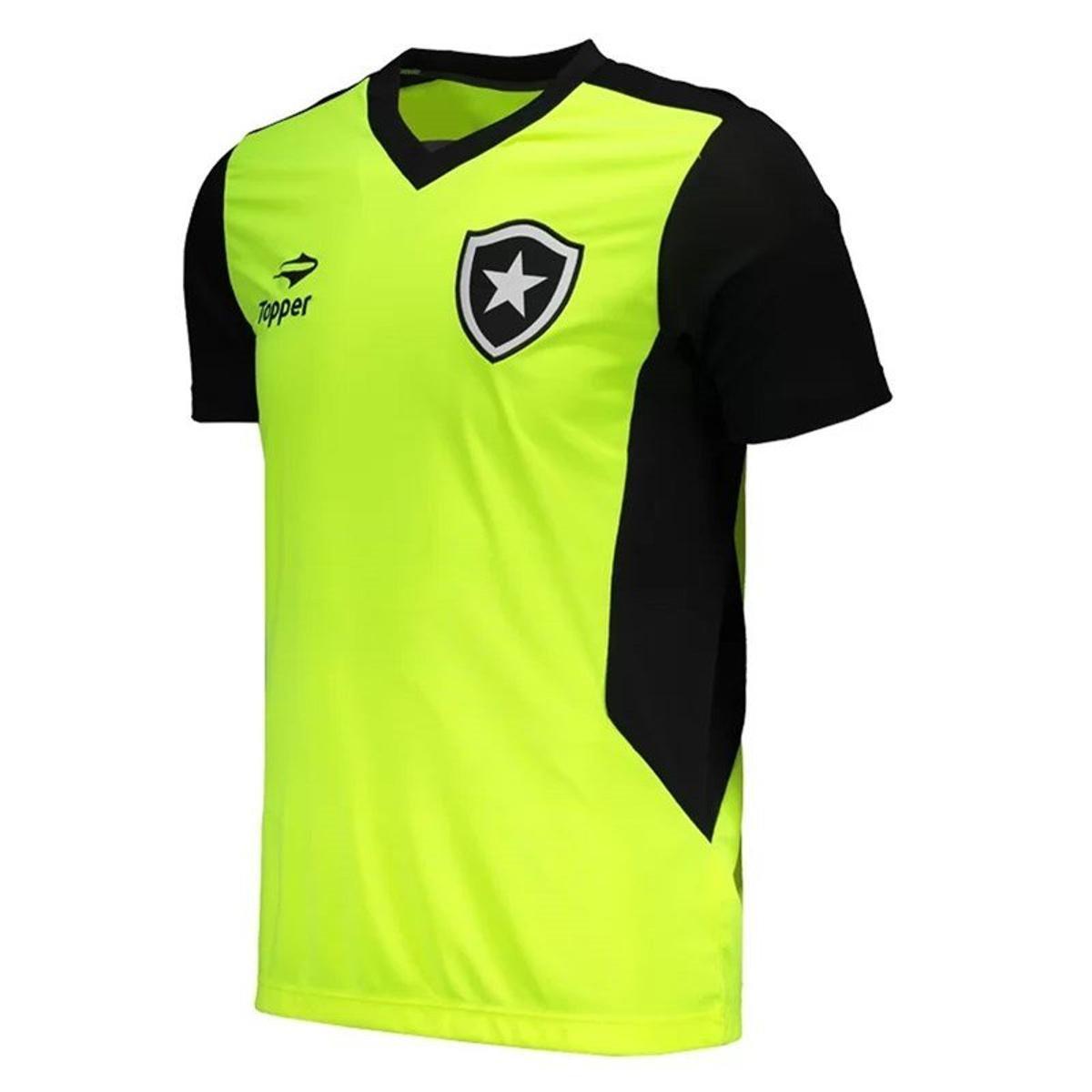 Camisa Topper Botafogo Treino Masculina  Camisa Topper Botafogo Treino  Masculina ... cc0c0eef6ee27