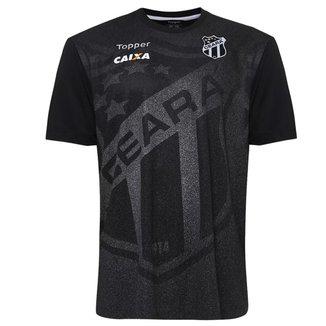 Camisa Topper Ceará Oficial Aquecimento 2018 Juve