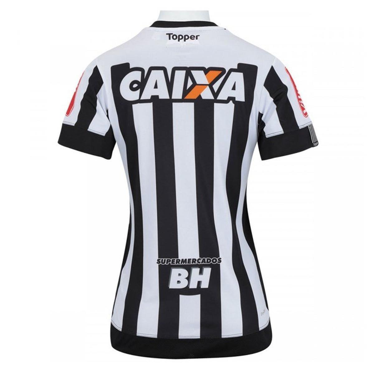 Camisa Topper do Atlético Mineiro 2017 Feminina - Compre Agora ... 7b4bad7e58eab