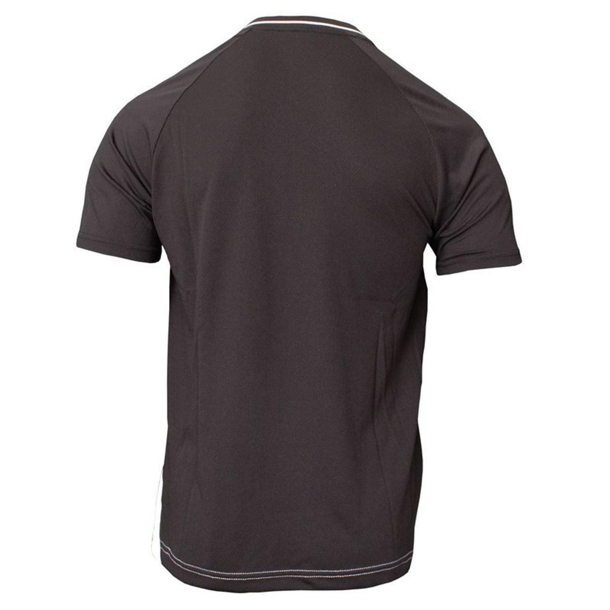 Camisa Topper Futebol Vector II Masculina - Branco e Preto - Compre ... 1a5c7cf264b6a